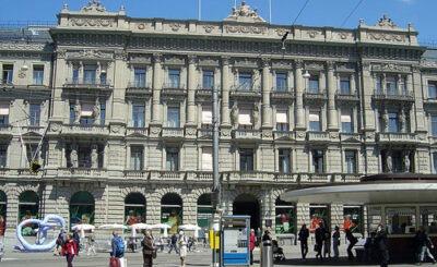 Здание Credit Suisse в Цюрихе. Фото с сайта wikipedia.org Автор Sidonius