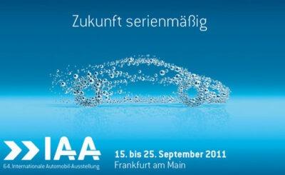 Официальный постер выставки IAA