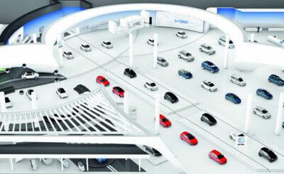 Модель павильона Volkswagen (фрагмент). Изображение Volkswagen