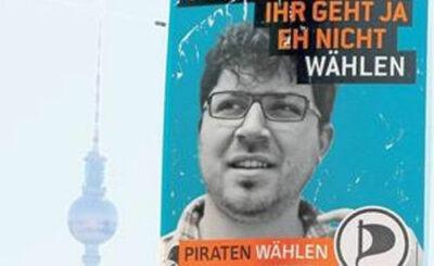 Предвыборный плакат партии пиратов