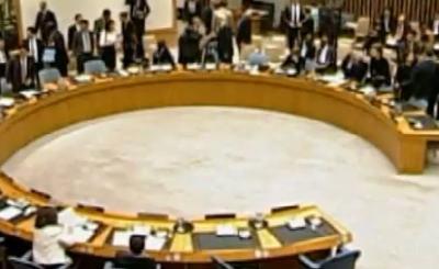 Совет безопасности ООН. Кадр телеканала ПИК