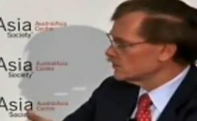 Глава Всемирного банка - Роберт Зеллик. Телекадр intigrtv