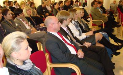 Участники конференции в Генконсульстве РФ в Бонне. Фото: © Александр Райхрудель