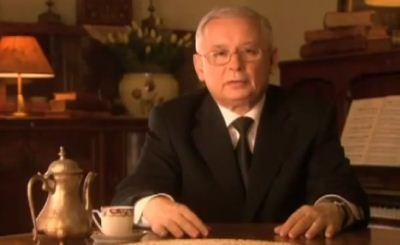 Ярослав Качиньский. Телекадр РИАНОВОСТИ