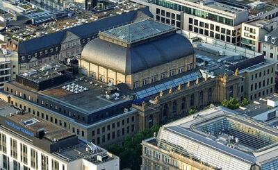 Здание Франкфуртской фондовой биржи. Фото с сайта wikipedia.org автора dontworry
