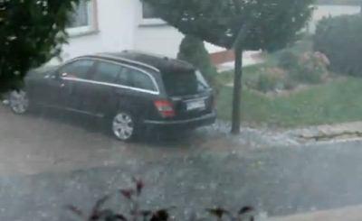 На Германию надвигаются дожди. Скриншот Youtube. Видео пользователя rottersberg