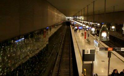 Мюнхенское метро. Скриншот YouTube. Видео пользователя Quaso258