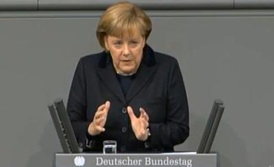 Ангела Меркель. Телекадр cdutv