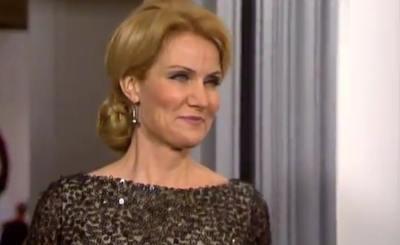 Премьер-министр Дании Хелле Торнинг-Шмидт. Телекадр Euronews