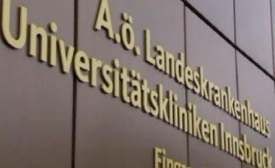 Йохан Фризо госпитализирован в австрийском Инсбруке. Кадр телеканала ПИК