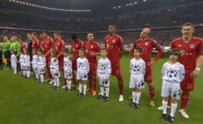 Бавария сделала шаг к финалу Лиги Чемпионов. Кадр телеканала Sky