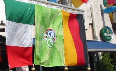 В полуфинале Евро-2012 немцы сыграют с Италией. Фото: © L. Lantsman