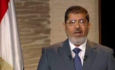 Мухаммед Мурси. Телекадр afpde