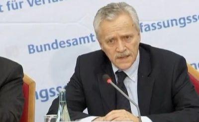Хайнц Фромм. Кадр телеканала Euronews