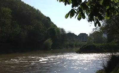 Weserbergland. Скриншот Youtube. Видео пользователя newsmakereinbeck