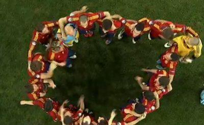 Испания - чемпион Европы 2012. Кадр телеканала Sky