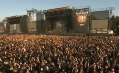 Wacken Open Air. Скриншот Youtube. Видео пользователя metalsister90