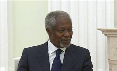 Кофи Аннан. Кадр телеканала RT