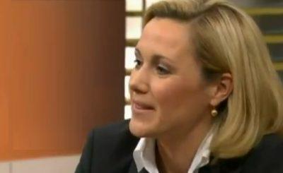 Беттина Вульф. Кадр телеканала ZDF