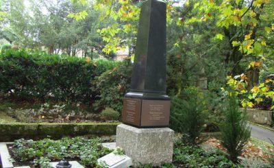 Обелиск на могиле семьи Жуковских в Баден-Бадене