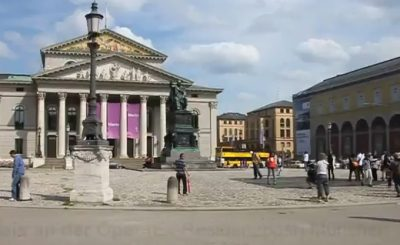 Скриншот Youtube. Видео ganz-muenchen.de