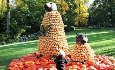 Фестиваль тыквы в Людвигсбурге Фото: © С. Киевман