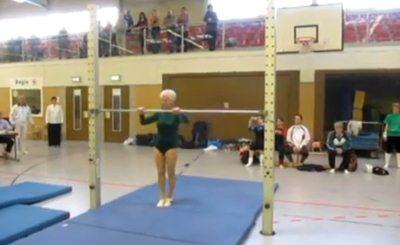 Йоганна Кваас. Скриншот Youtube. Видео пользователя gymmedia2010