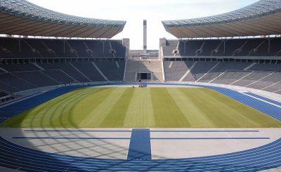 Олимпийский стадион в Берлине может принять финал Евро-2020. © Sandro Schachner. Фото с сайта wikipedia.org