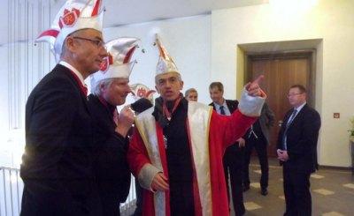 Обербургомистр Петер Фельдман возглавляет штаб карнавала. Фото: © Ирина Навара-Себастья