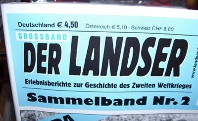 Обложка журнала Der Landser
