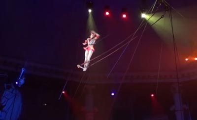 Видеокадр пользователя The Nikulin Circus Festival, YouTube