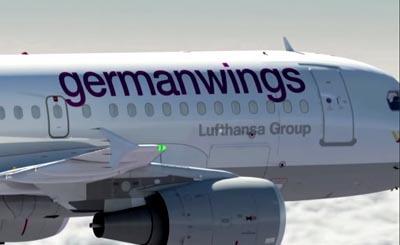 Видеокадр пользователя Germanwings, YouTube