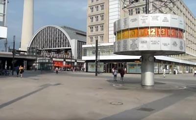 Видеокадр пользователя Berlin Street View, YouTube