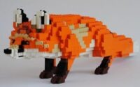 Немецкий художник собрал зоопарк из LEGO