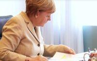 Ангела Меркель рассказала о своём выборе профессии