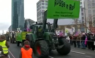 Около 18 тыс. демонстрантов вБерлине добивались поменять агрополитику