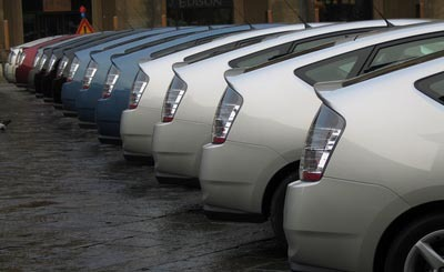 ВГермании возросли продажи авто ксередине зимы
