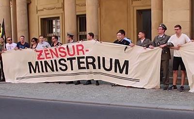 Видеокадр пользователя Identitäre Движения Германии, YouTube