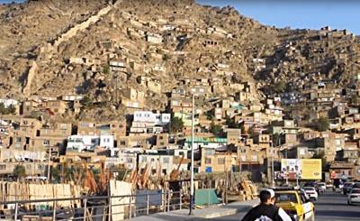 Кабул – столица Афганистана. Видеокадр пользователя Города планеты, YouTube