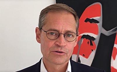 Michael Müller. Видеокадр пользователя SPD Berlin, YouTube