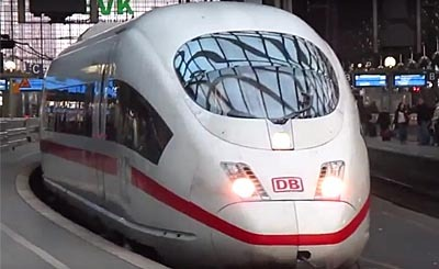 Видеокадр пользователя Eisenbahnvideos, YouTube