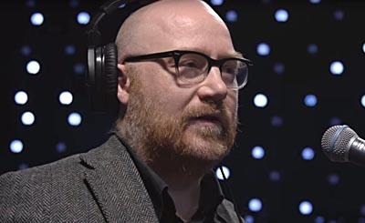 Jóhann Jóhannsson. Видеокадр пользователя KEXP, YouTube