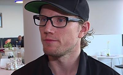 Christian Ehrhoff. Видеокадр пользователя SID, YouTube