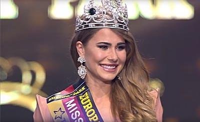 Anahita Rehbein. Видеокадр пользователя Miss Germany, YouTube