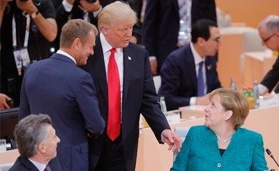 Второй день саммита G20 в Германии. Фото: © Михаил Метцель/ТАСС. Предоставлено Фондом ВАРП