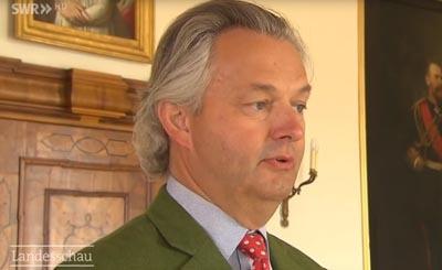 Friedrich Herzog von Württemberg. Видеокадр пользователя Landesschau Baden-Württemberg, YouTube