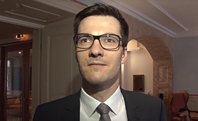 Martin Horn. Видеокадр пользователя badischezeitung, YouTube