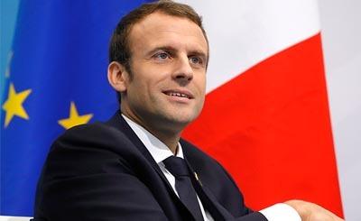 Emmanuel Macron © Михаил Метцель/ТАСС. Предоставлено Фондом ВАРП