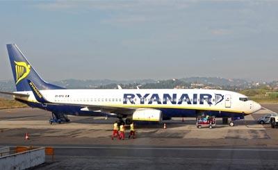 Самолет ирландской авиакомпании Ryanair © Татьяна Тимирханова / Интерпресс / ТАСС. Предоставлено Фондом ВАРП