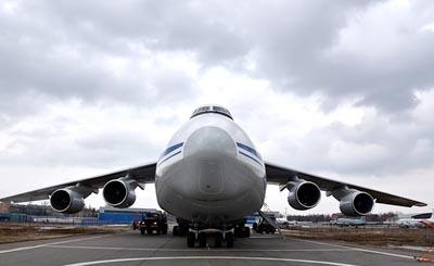 """Транспортный самолет Ан-124 """"Руслан"""" © ТАСС / ТАСС. Предоставлено Фондом ВАРП"""